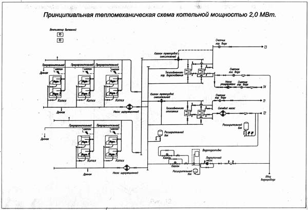 скачать принципиальную электрическую схему для модульной котельной